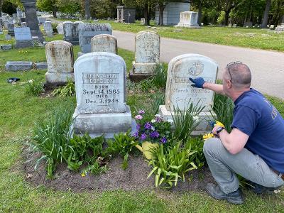 Peter Ellison - Restoration at Mount Hope Cemetery