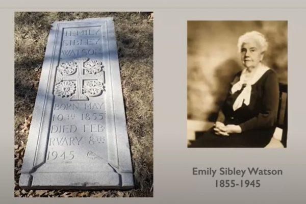 emily sibley watson rochester's quiet philanthropist mourning in the morning programs