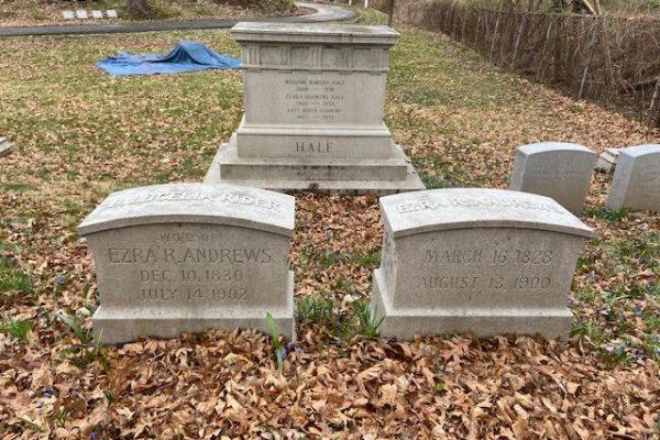 Ezra Andrews - Mount Hope Cemetery