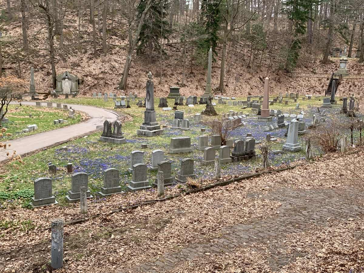 Geography Tour Mount Hope Cemetery