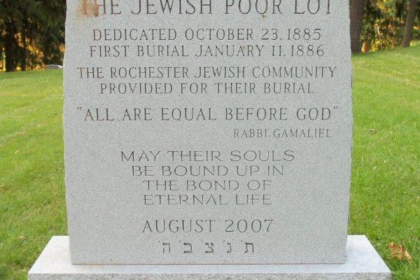 Jewish Roots in Rochester