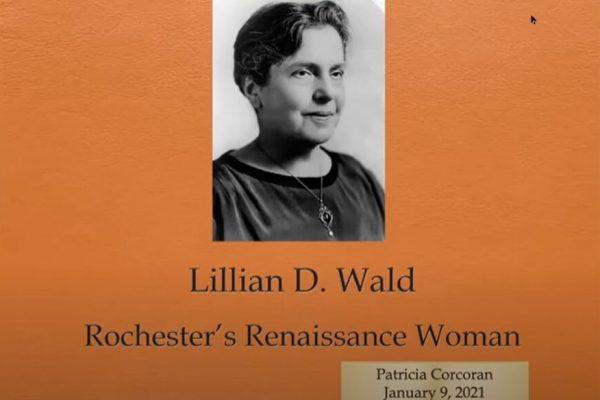 lillian d. wald rochester's renaissance woman mourning in the morning