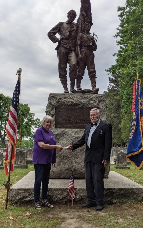 Mount Hope Cemetery Rochester NY Memorial Day Ceremony
