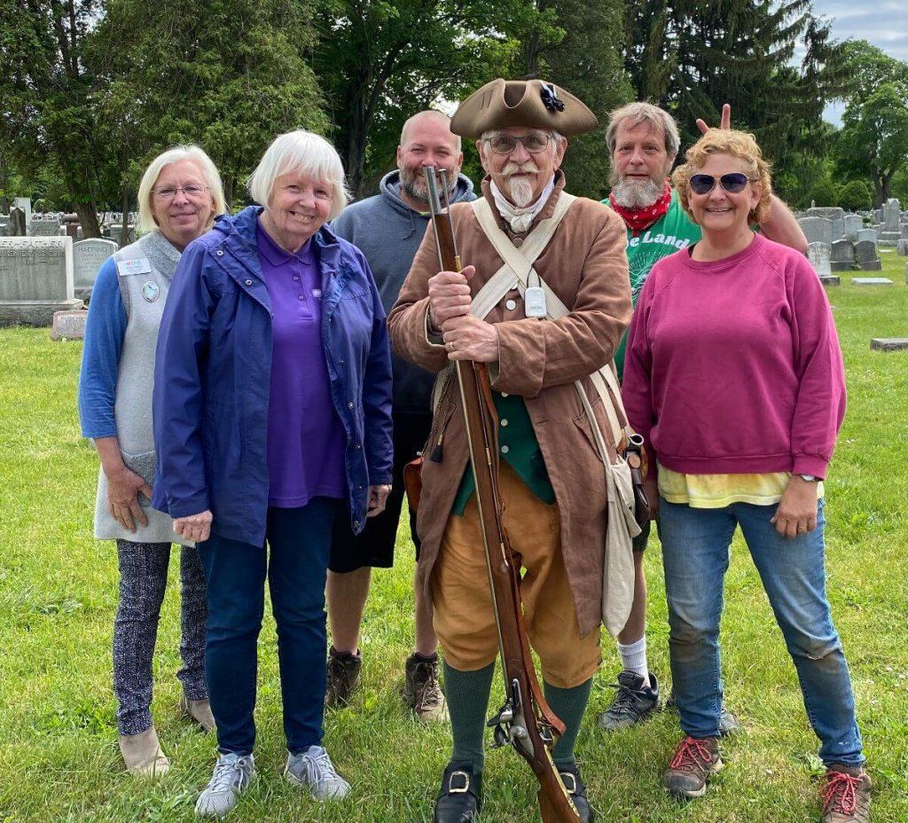 """The """"Patriots of the American Revolution"""" was a fascinating historic commemoration of the Boyd and Parker Ambush during the Sullivan Campaign of the Revolutionary War."""