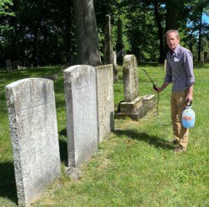 Mount Hope Cemetery Rochester NY Stone Cleaning Restoration Project