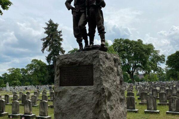 Civil War Tour Mount Hope Cemetery Rochester NY
