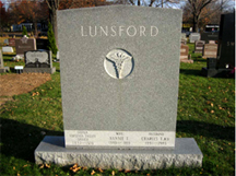 Dr. Charles Lunsford gravestone