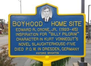 Edward Crone Historic Marker