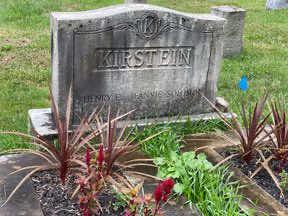 Kirstein gravestone