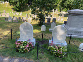 graves of Susan and Mary Anthony