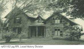 Josiah Bissell East Avenue Home