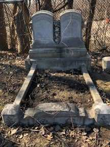 Cradle Grave with bare soil
