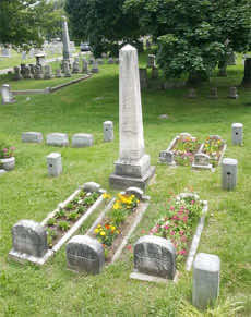 plantted cradle graves