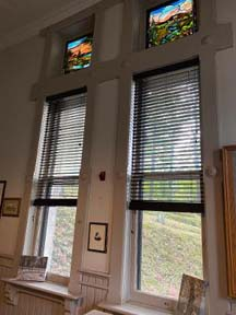 new blinds for west gatehouse windows