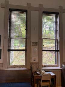 new blinds for north gatehouse windows