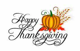 Happy Thanksgiving with pumpkin image