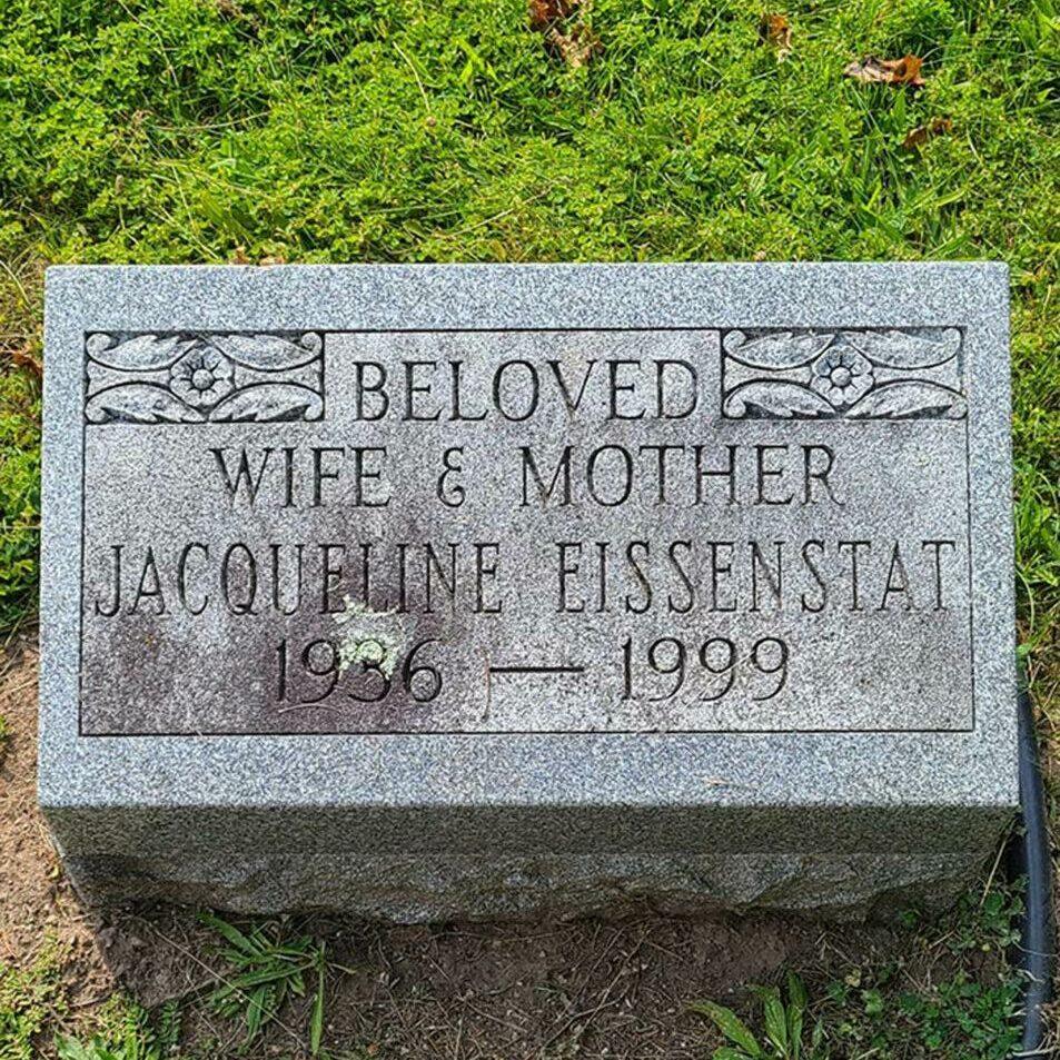 Jacqueline Eissenstat Mount Hope Holocaust Archive