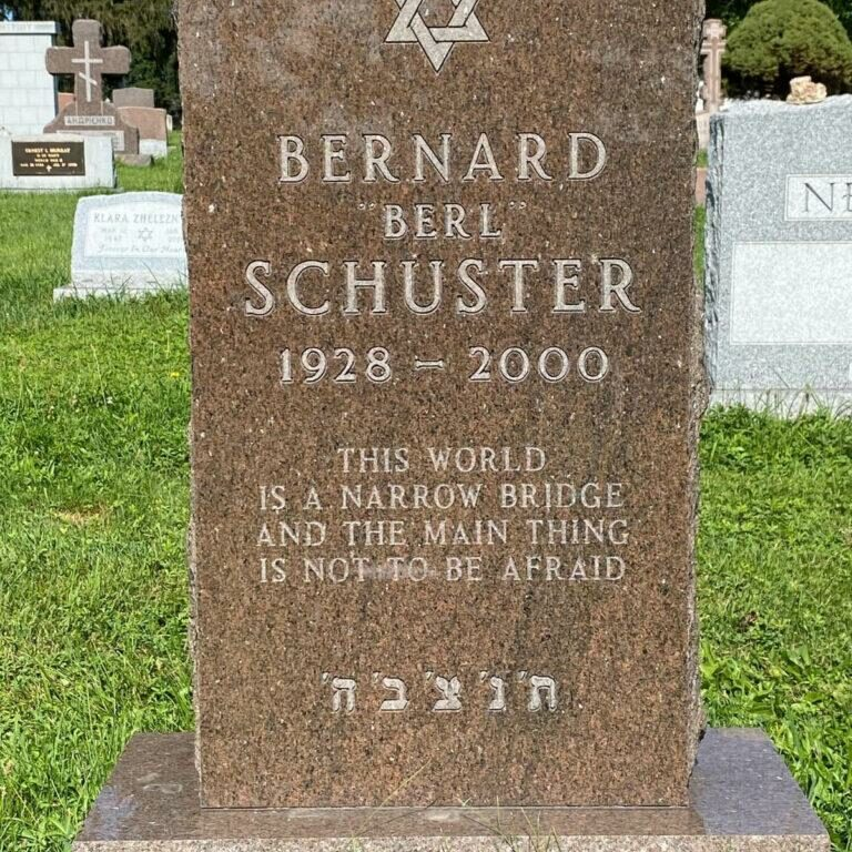 Schuster Mount Hope Holocaust Archive